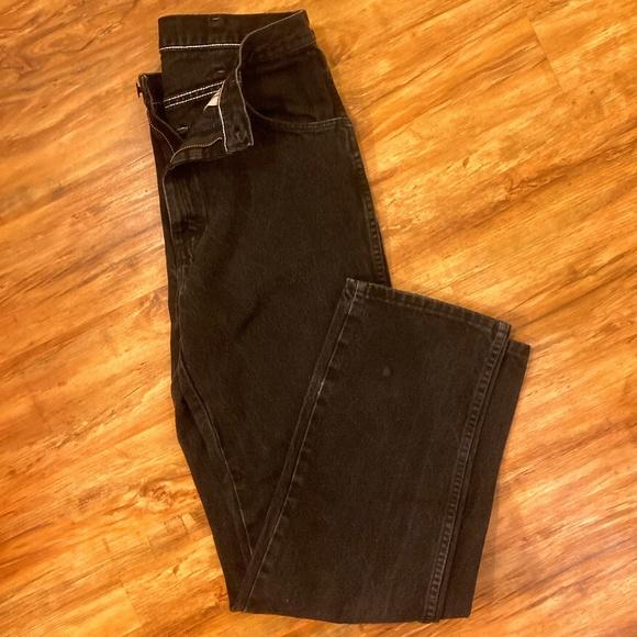 Rustler Men's Jeans Black Size 32x34
